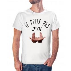 T-shirt j'peux pas J'ai Jul - cadeau homme main
