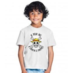 T-shirt Je peux pas je cherche le One Piece - Cadeau TeeShirt enfant pirate
