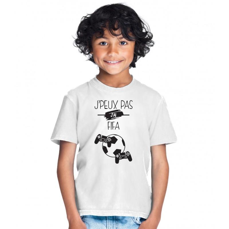 T-shirt Je peux pas j'ai Fifa - Cadeau Football Fan