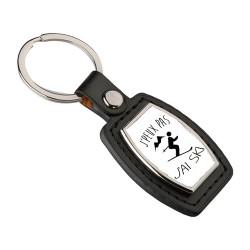 Porte clés Je peux pas j'ai Ski