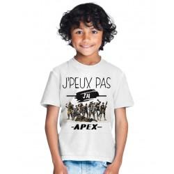 T-shirt Je peux pas j'ai Apex Legends - Cadeau pour Gamer FPS