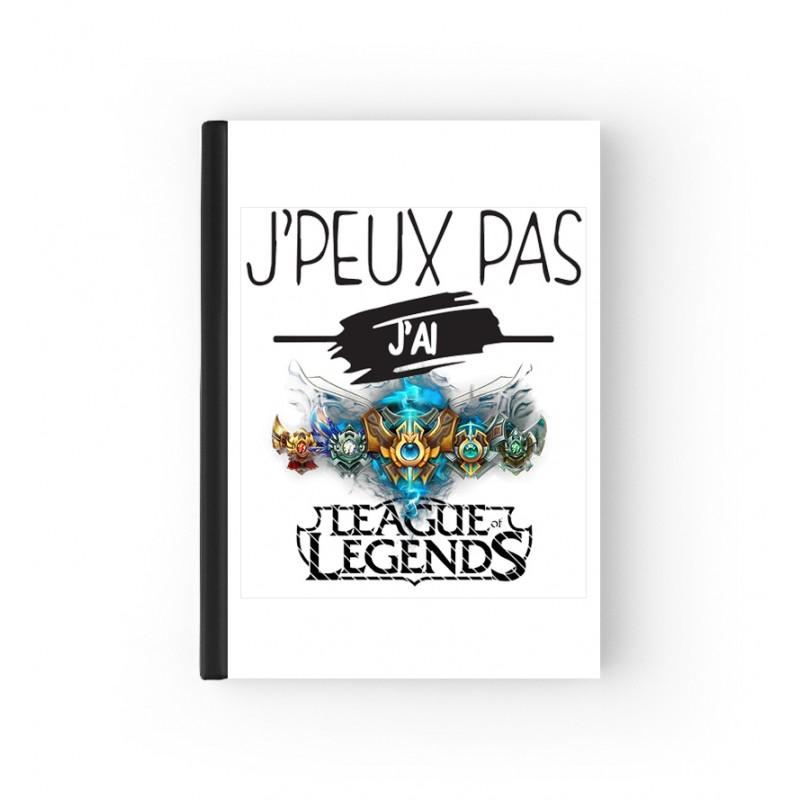 Cahier Bloc Notes League Of Legends