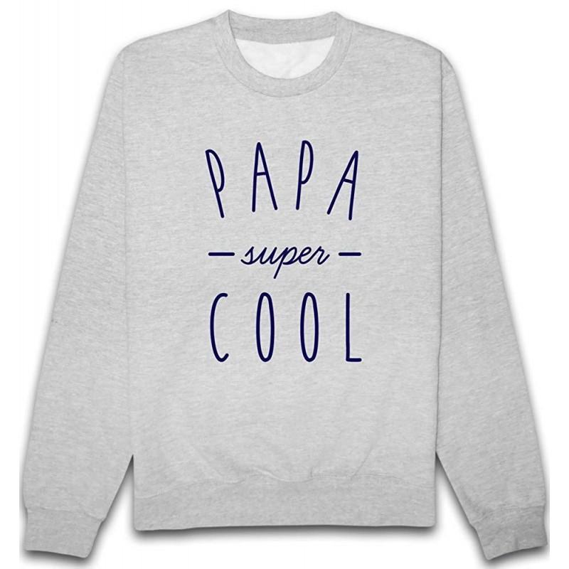 Sweat Papa Super Cool Gris