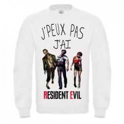 Sweat J'peux pas j'peux pas j'ai Resident Evil - Pull