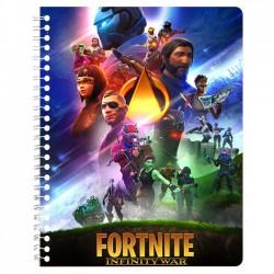 Cahier de texte Fortnite x Avengers