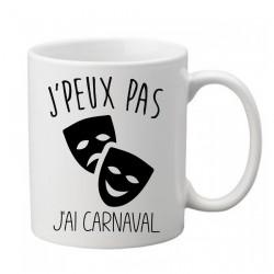 Mug j'peux pas j'ai Carnaval homme - Tasse