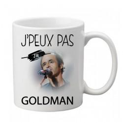 Mug  j'peux pas j'ai Goldman  - Tasse