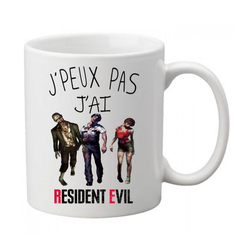 Mug j'peux pas j'ai Resident Evil   - Tasse