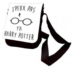 Sac J'peux pas y'a Harry Potter en bandouilière