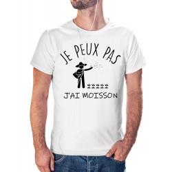 T-shirt j'peux pas J'ai MOISSON - cadeau homme