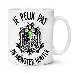 Mug / Tasse je peux pas j'ai Monster Hunter