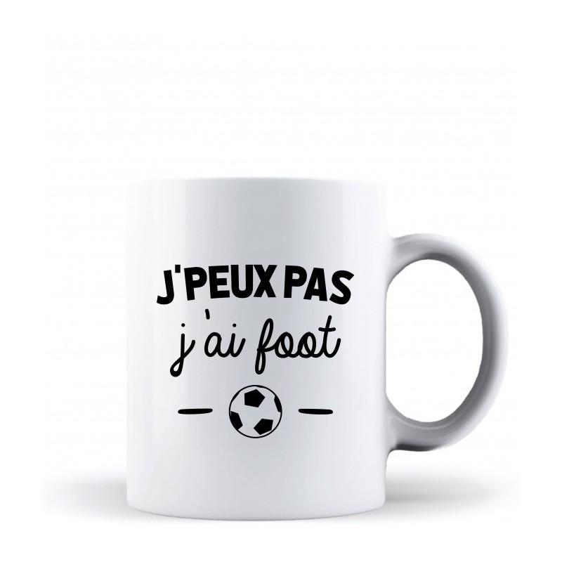 Mug / Tasse je peux pas j'ai foot
