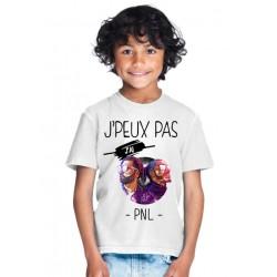 T-shirt je peux pas j'ai PNL - Cadeau enfant fille et garçon