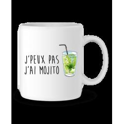 Mug / Tasse je peux pas j'ai Mojito