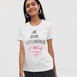 T-Shirt je peux Je suis super maman - Femme