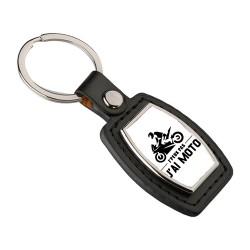 Porte clés Je peux pas j'ai moto