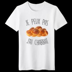T-shirt je peux pas j'ai chabbat - cadeau Homme