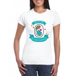 T-Shirt Je peux pas je suis enceinte - Cadeau femme future maman