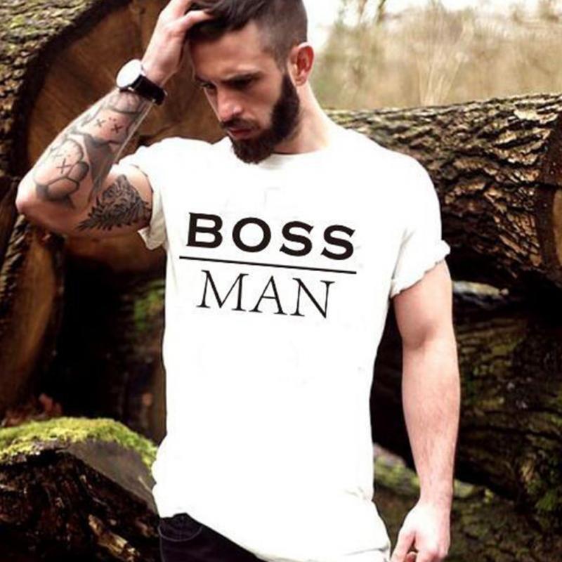 t-shirt Boss Man - cadeau homme