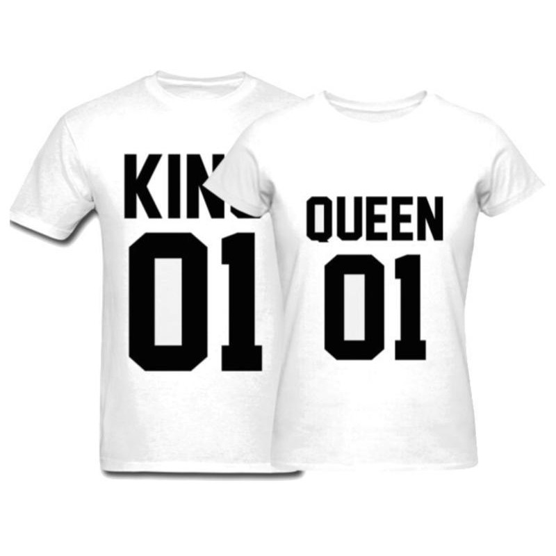 T-Shirt King / Queen pour couple