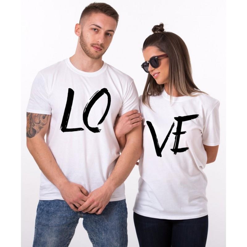 Tshirt Love - Tenue pour les couples