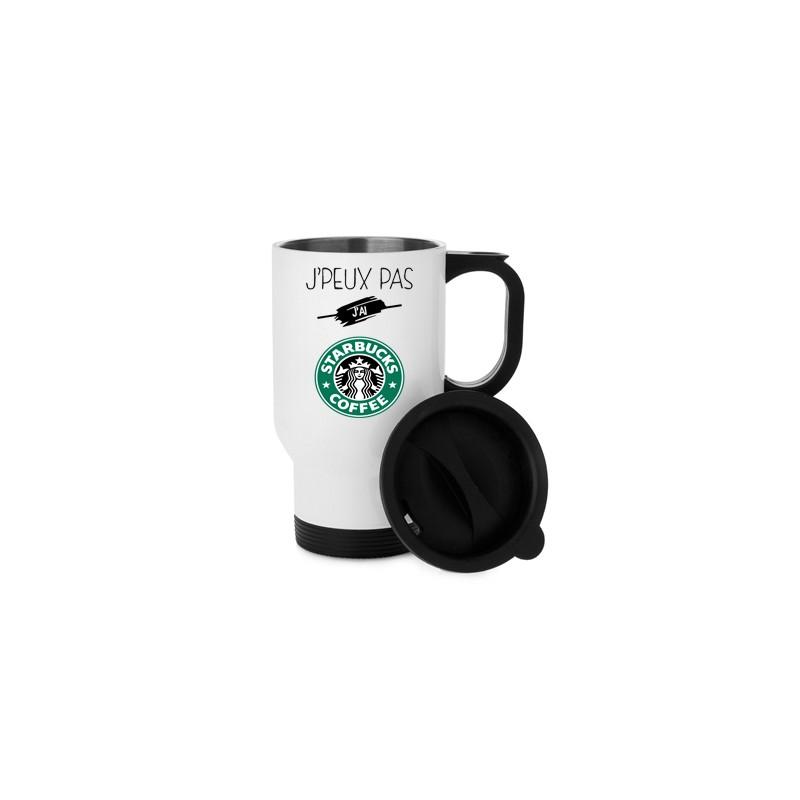 Aluminium J'ai Mug Peux Isotherme Je Starbucks Tasse Pas Coffee nw80ONPkXZ