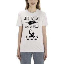 T-Shirt Je peux pas j'ai water polo - Cadeau femme natation