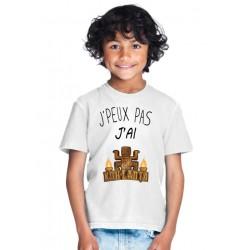 T-shirt j'peux pas j'ai Koh Lanta  - Cadeau enfant fille et garçon