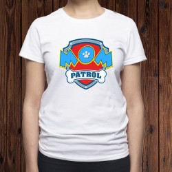 T-Shirt Mom Patrol - Pat Patrouille humour Femme