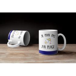Mug Je peux pas j'ai plage - Tasse