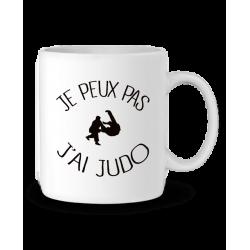 Mug / Tasse j'peux pas j'ai judo