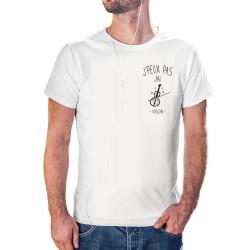 T-shirt J'peux pas j'ai violon luxe - homme cadeau