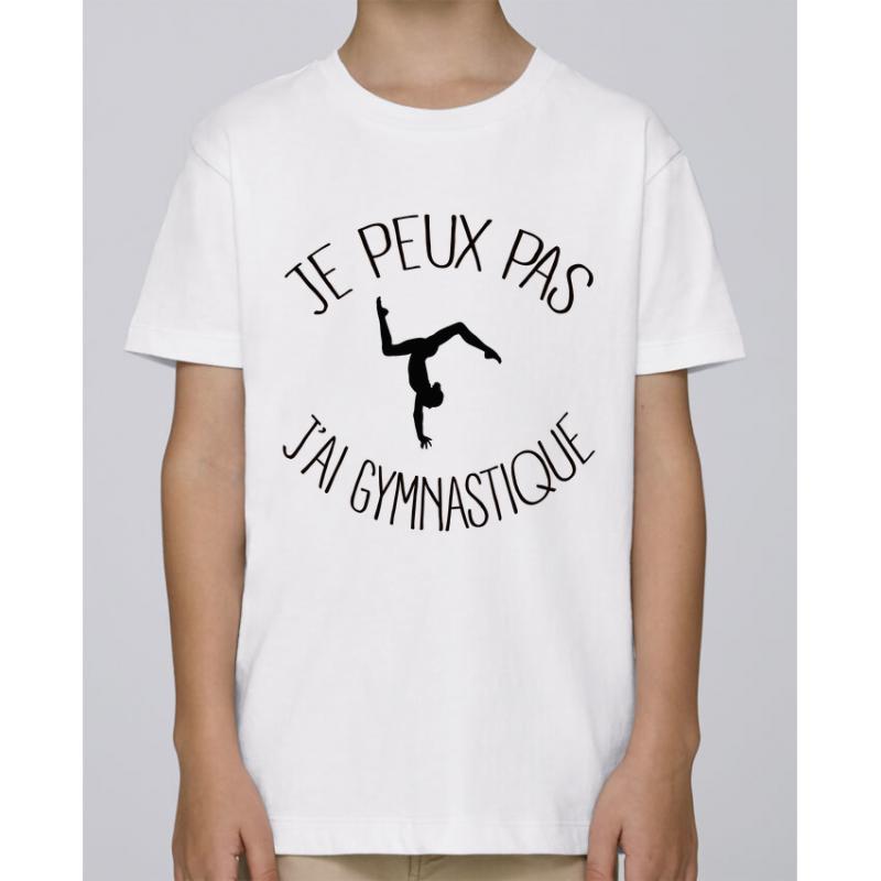 T-shirt Je peux pas j'ai gymnastique - Cadeau enfant