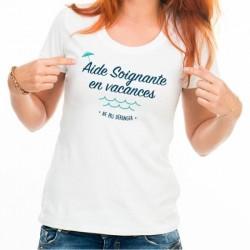 T-Shirt Aide soignante en vacances - Ne pas déranger