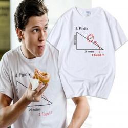 t-shirt Find X drôle Tom Holland Spider-man - Homme