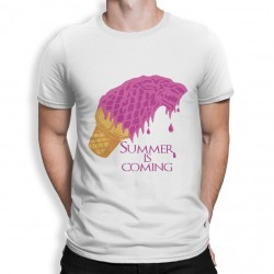 t-shirt Summer is coming - Homme