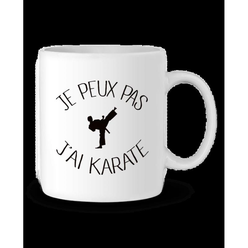 Mug / Tasse j'peux pas j'ai Karate