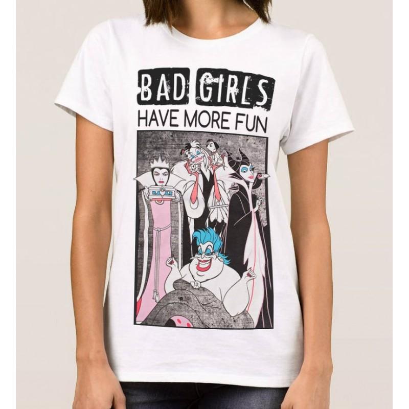T-Shirt Bad girls have more fun - Femme