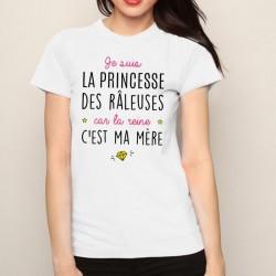 T-Shirt princesse des raleuses - Femme Cadeau chiante