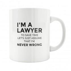 mug Je suis avocat et j'ai toujours raison - Tasse