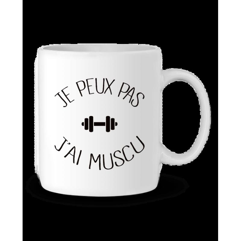 Mug / Tasse j'peux pas j'ai muscu
