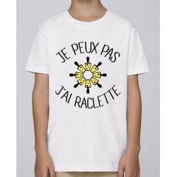 T-shirt j'peux pas j'ai raclette - cadeau Humour homme