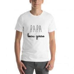 T-shirt Papa beau gosse cadeau fête des pères