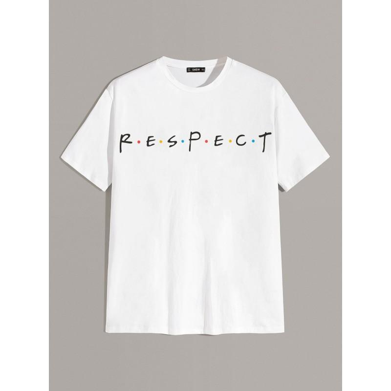 T-shirt Respect - Friends font homme