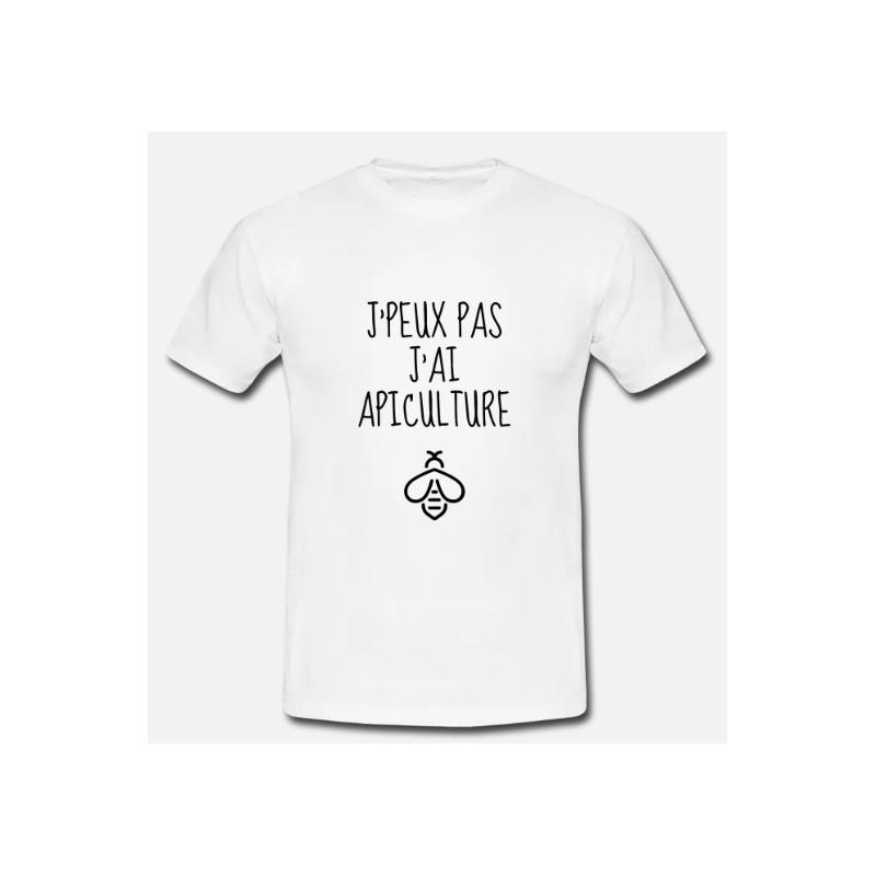 T-shirt j'peux pas j'ai apiculture- cadeau amoureux des abeilles
