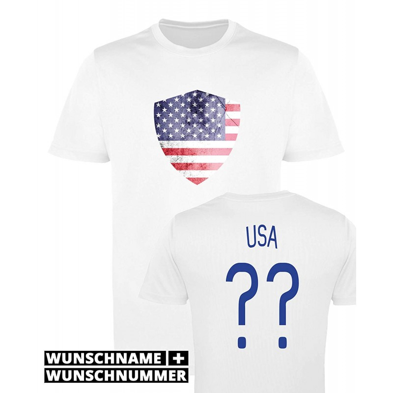 T-shirt USA - Maillot football personnalisable
