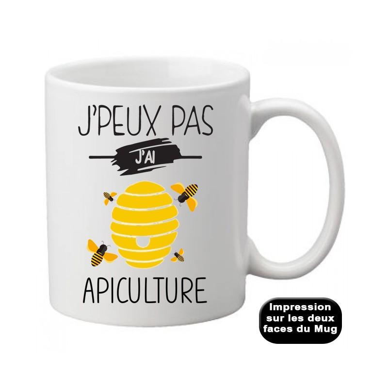Mug j'peux pas j'ai apiculture - Tasse
