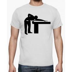 T-shirt table de billard - cadeau homme