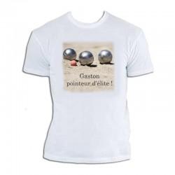 T-shirt Pétanque personnalisable Tireur D'élite - homme cadeau