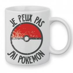 Mug Je peux pas j'ai Pokemon